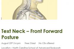 Text Neck Massage CEU