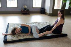 Thai Massage for Side Lying Position